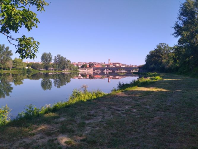 Garonne à vélo